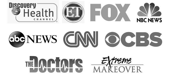 As seen on media logos