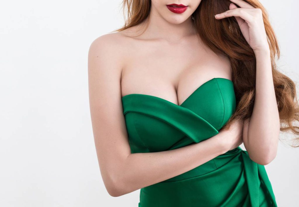 Tips for After Breast Surgery Stock Photo