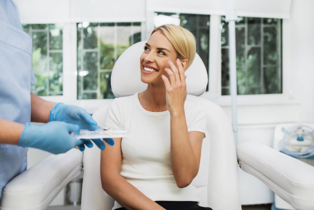 Does Botox Last Forever? Stock Photo